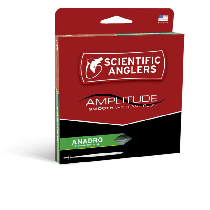 SCIENTIFIC ANGLERS Amplitude Anadro Taper WF5F - Turtle Grass/Willow/Optic Green
