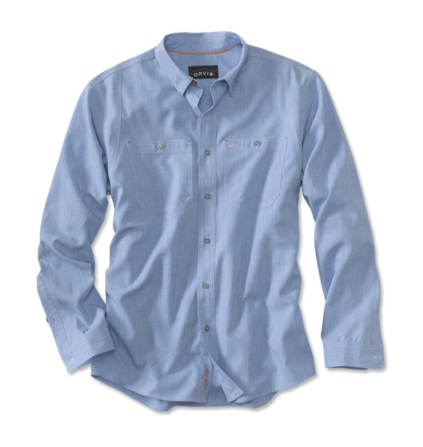 ORVIS Orvis Tech Chambray Work Shirt