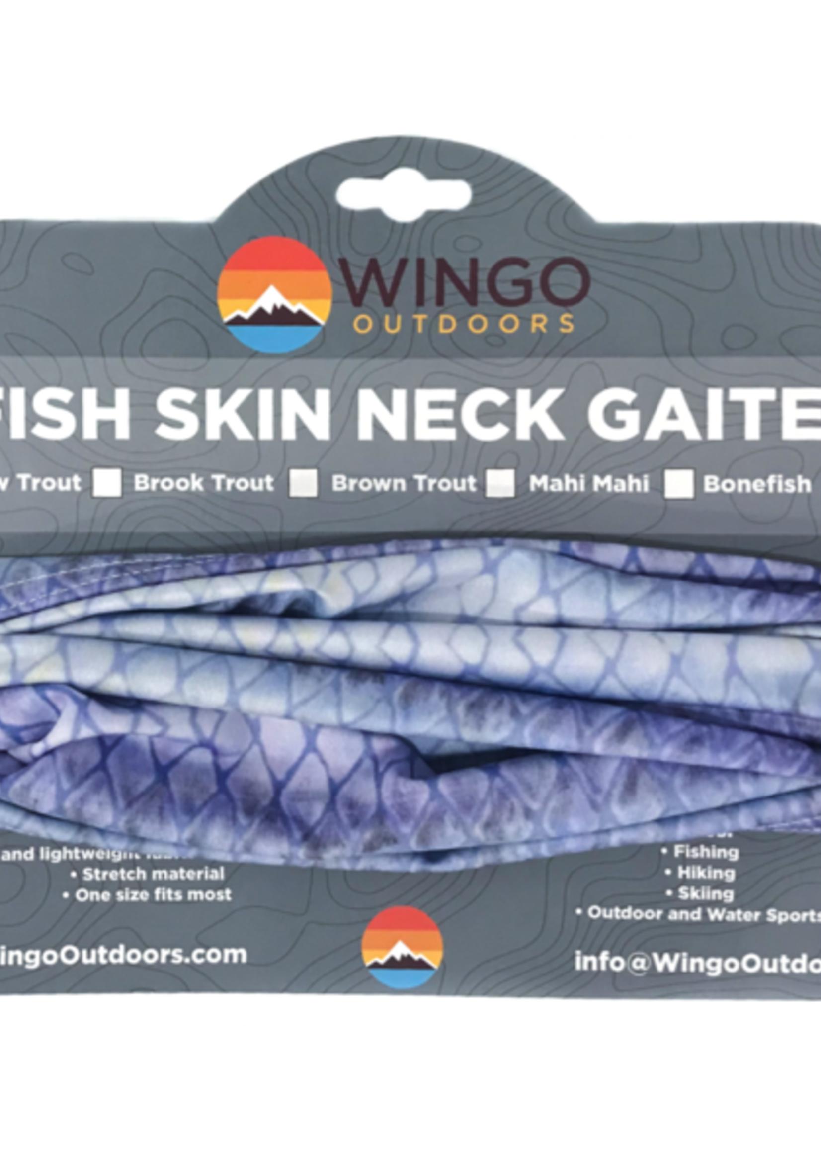 WINGO OUTDOORS WINGO FISH SKIN NECK GAITER