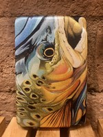 TROUT DESIGN FLY BOX