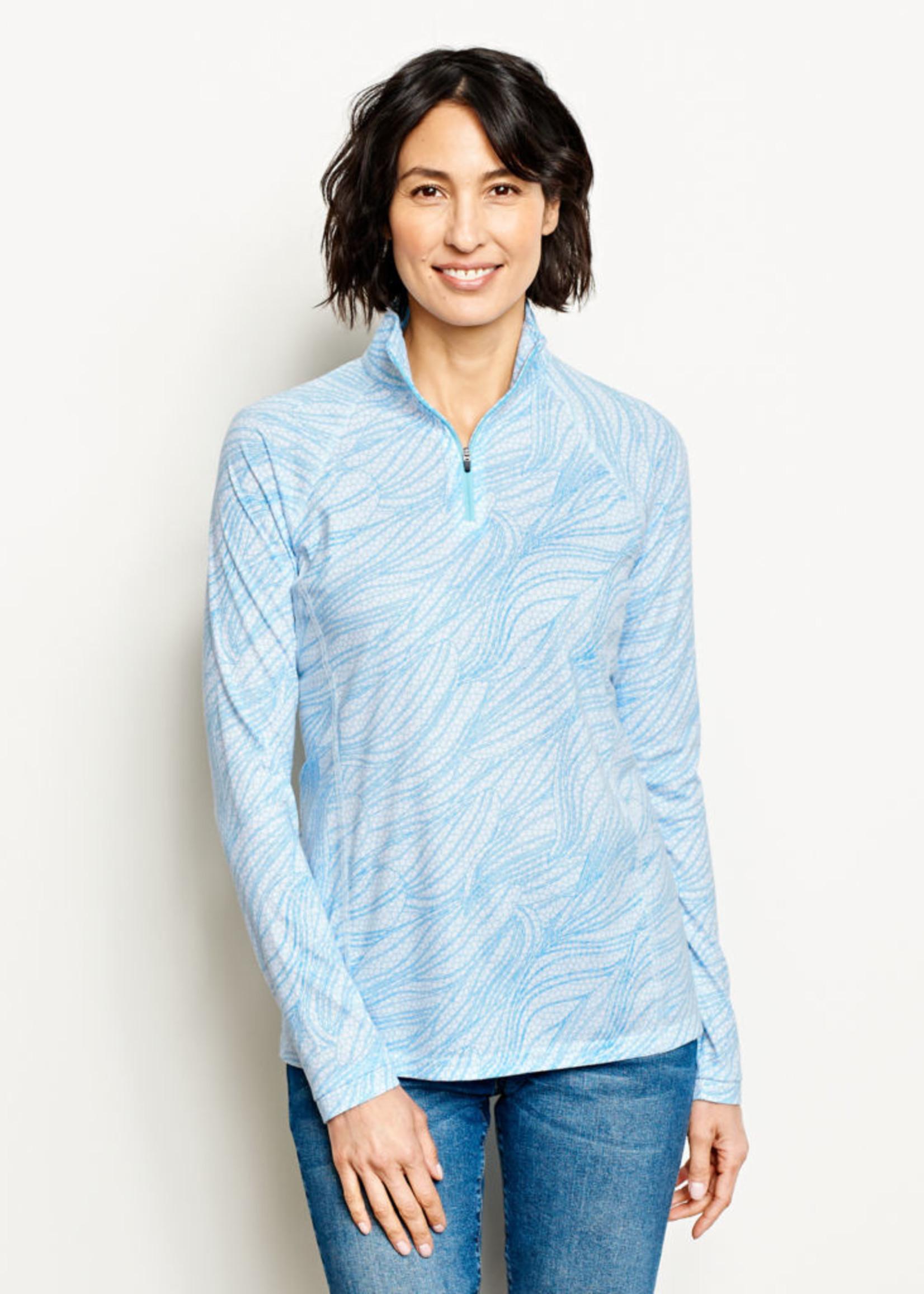 ORVIS Women's Drirelease Long-Sleeved Quarter-Zip Tee