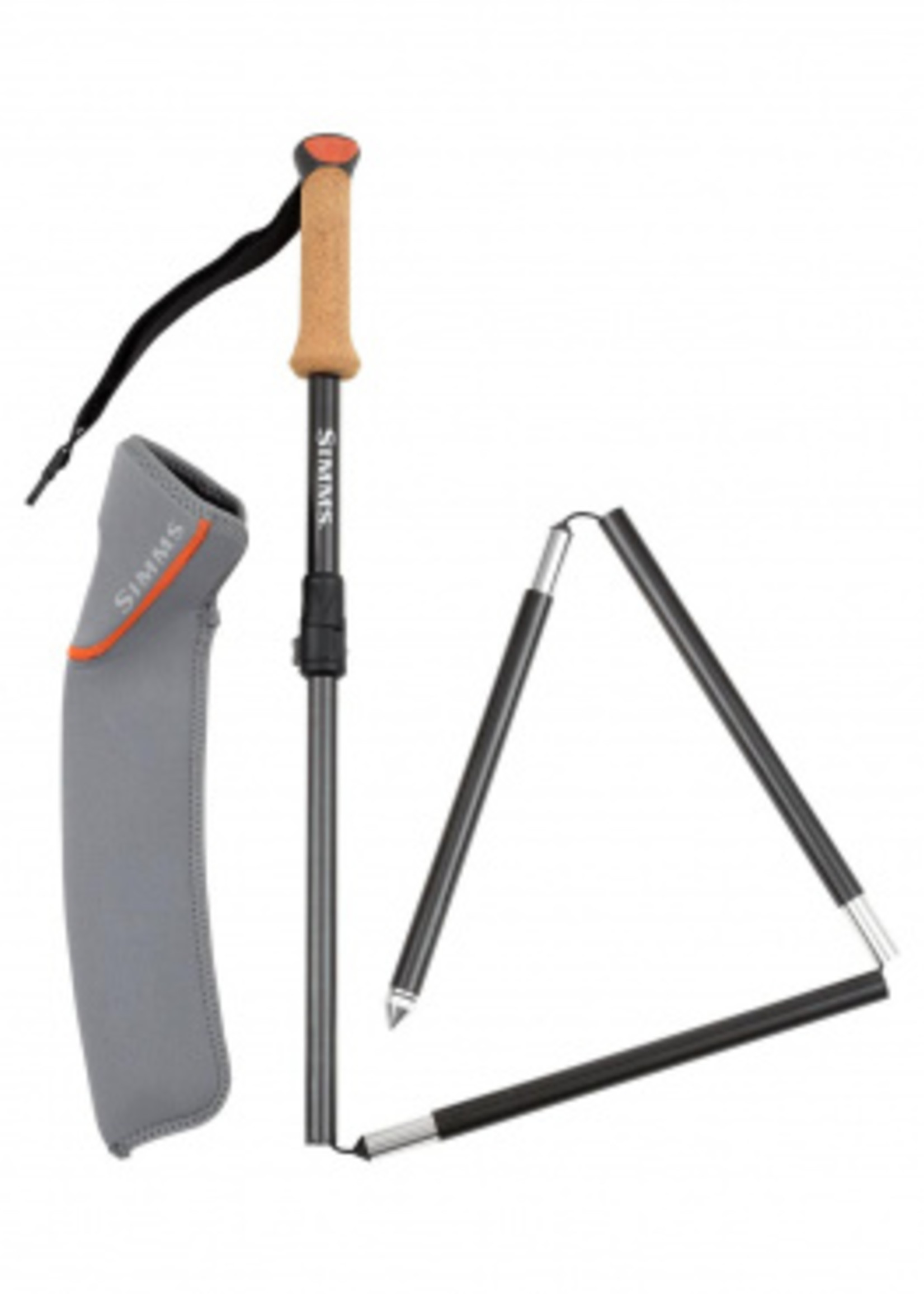 SIMMS PRO WADING STAFF CARBON