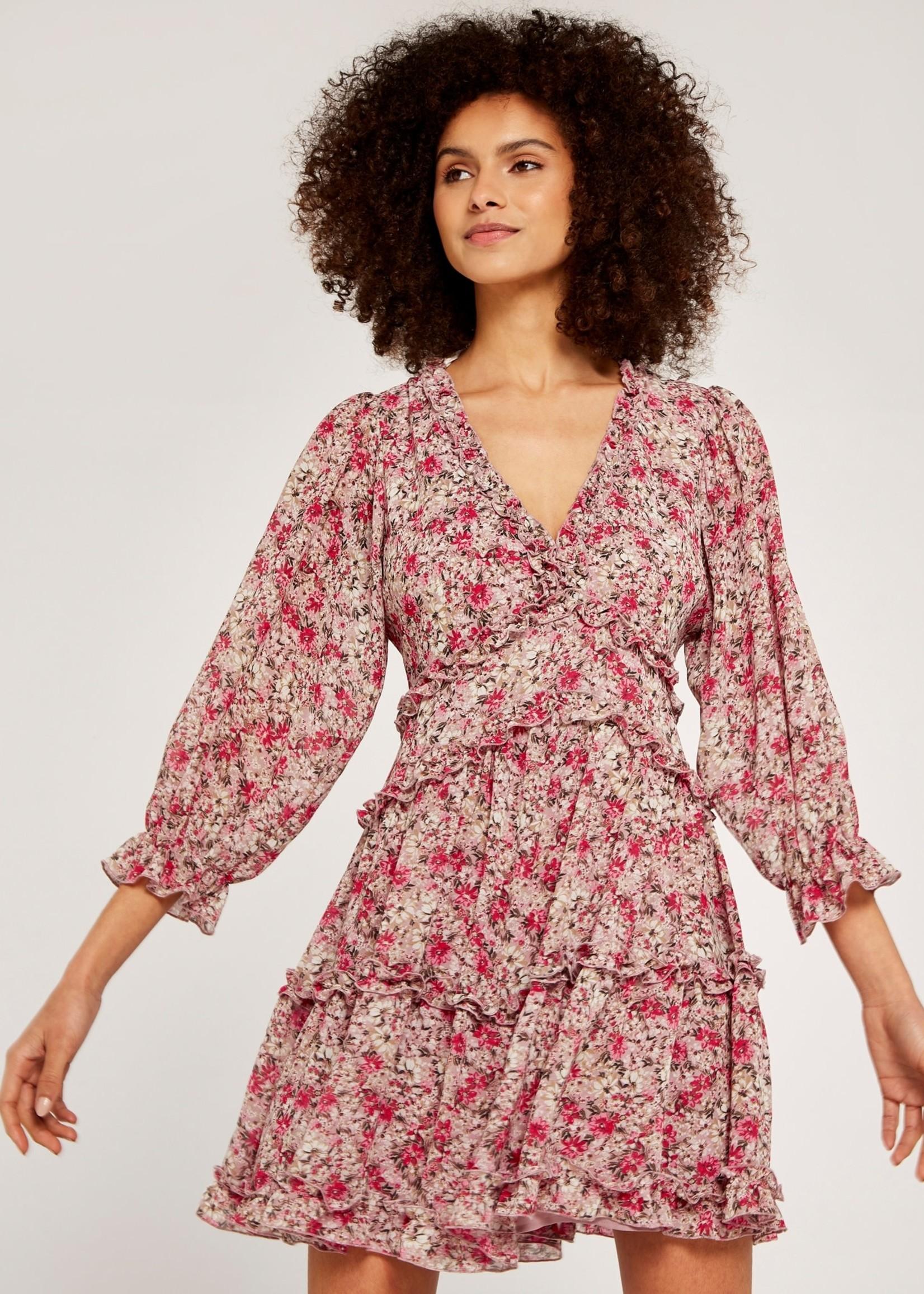 Apricot 529366 Ruffle Dress
