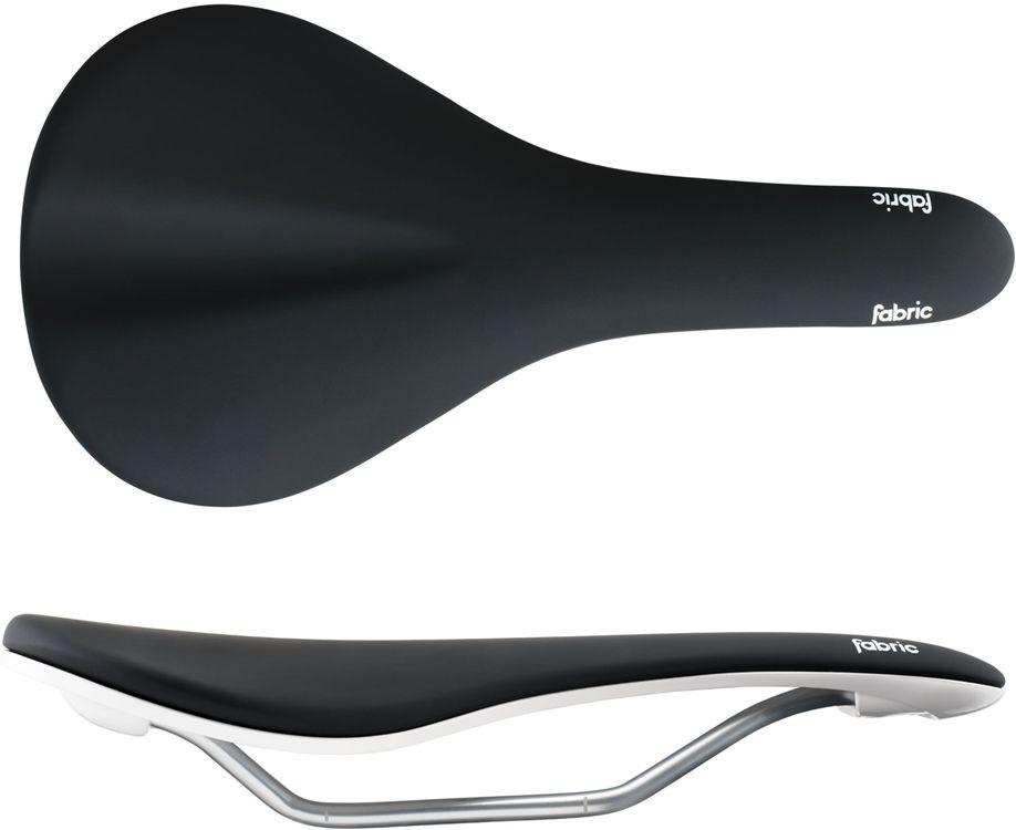 Fabric Fabric Scoop Elite Radius Black/White 142mm Saddle