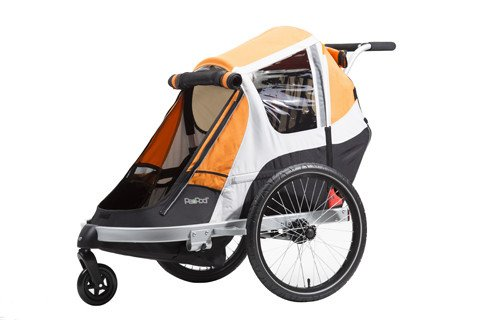 PeaPod Giant PeaPod Child Trailer Orange