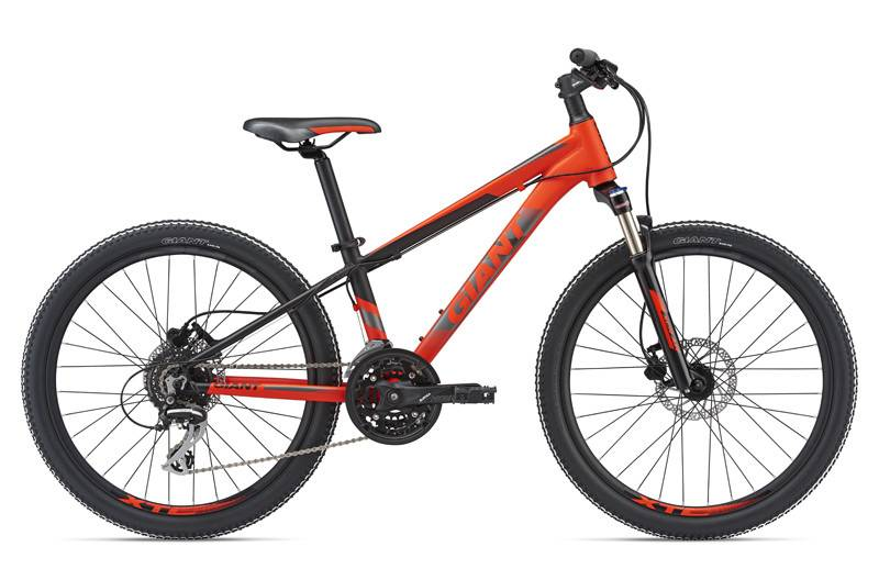 Giant Giant XTC SL Jr 24 Matte Neon Red/Black