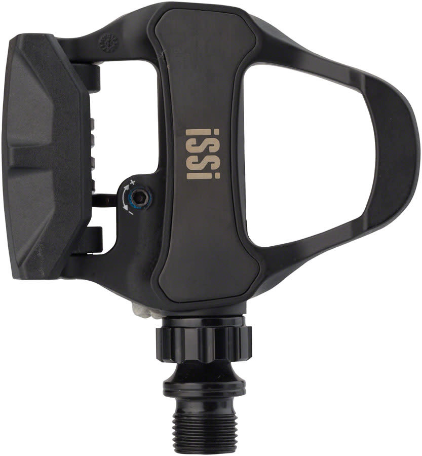 """iSSi iSSi Road Pedals - Single Sided Clipless , Carbon, 9/16"""", Intense Black"""