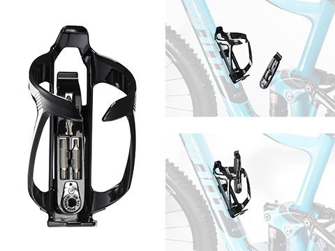 Giant Giant ProWay Stash Water Bottle Cage Black