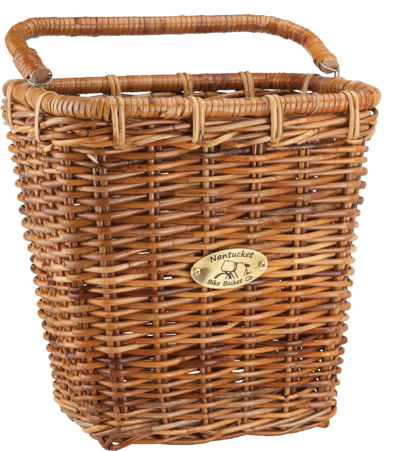 NANTUCKET BIKE BASKET CO. Nantucket Cisco Pannier Basket Honey B/030/R
