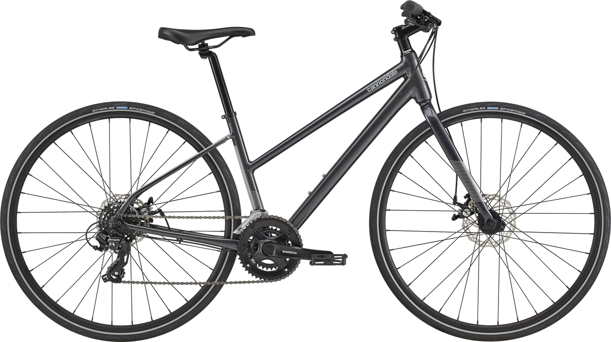 Cannondale 2020 Cannondale Quick Disc 5 Remixte Graphite