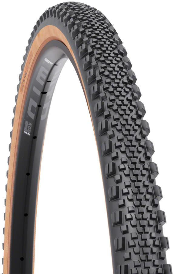 WTB WTB Raddler Tire - 700 x 44, TCS Tubeless, Folding, Black/Tan, Light, Fast Rolling