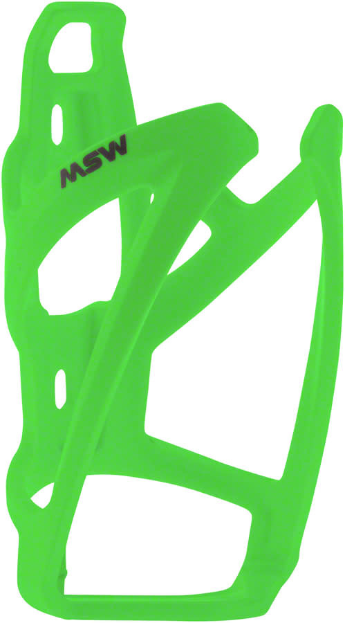 MSW MSW PC-110 Composite Bottle Cage, Neon Green