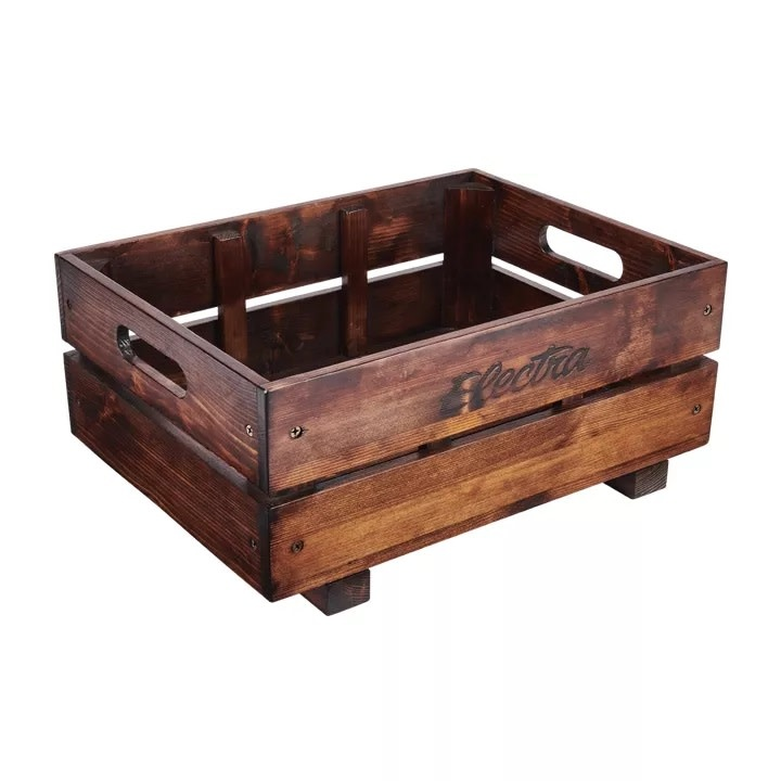 Electra Basket Electra Crate MIK Pine Brown
