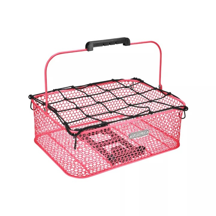 Electra Basket Electra Honeycomb Low Profile MIK Hot Pink Rear