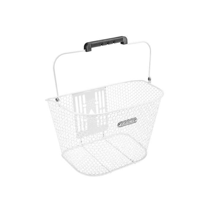 Electra Basket Electra Honeycomb QR White Front