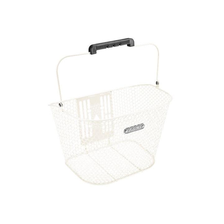Electra Basket Electra Honeycomb QR Vanilla Cream Front