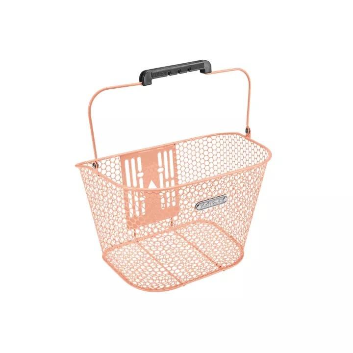 Electra Basket Electra Honeycomb QR Blush Pink Front