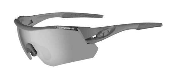 Tifosi Optics TIFOSI Z87.1 Alliant Tactical, Matte Black Safety Sunglasses - Smoke/HC Red/Clear