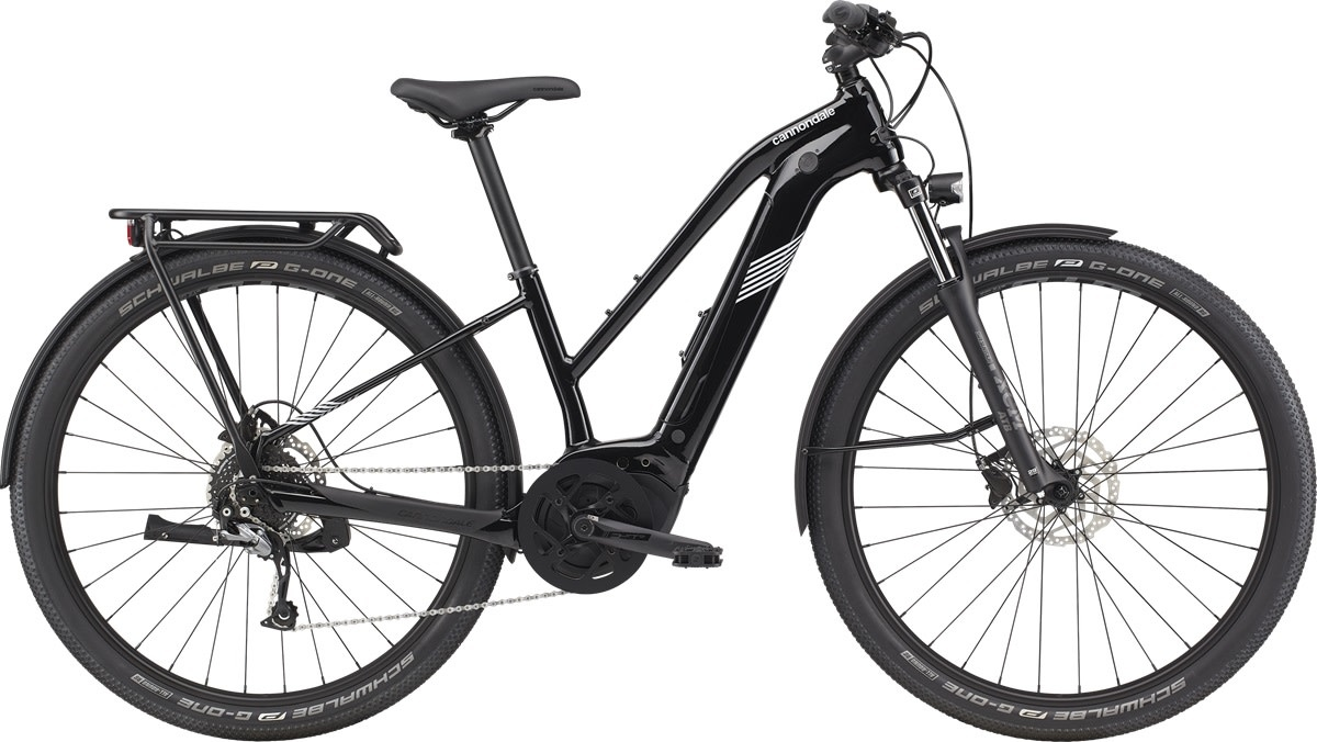 Cannondale 2021 Cannondale Tesoro Neo X 3 Remixte - Guinness Black