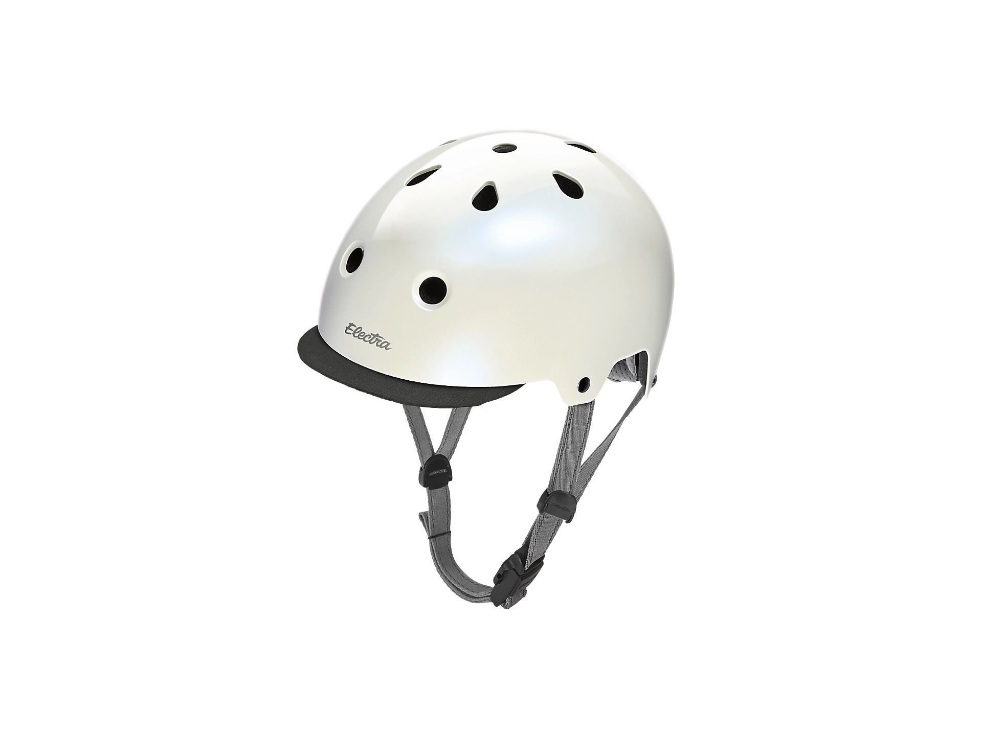 Electra Electra Lifestyle Lux Helmet - Pearl White/Light Grey