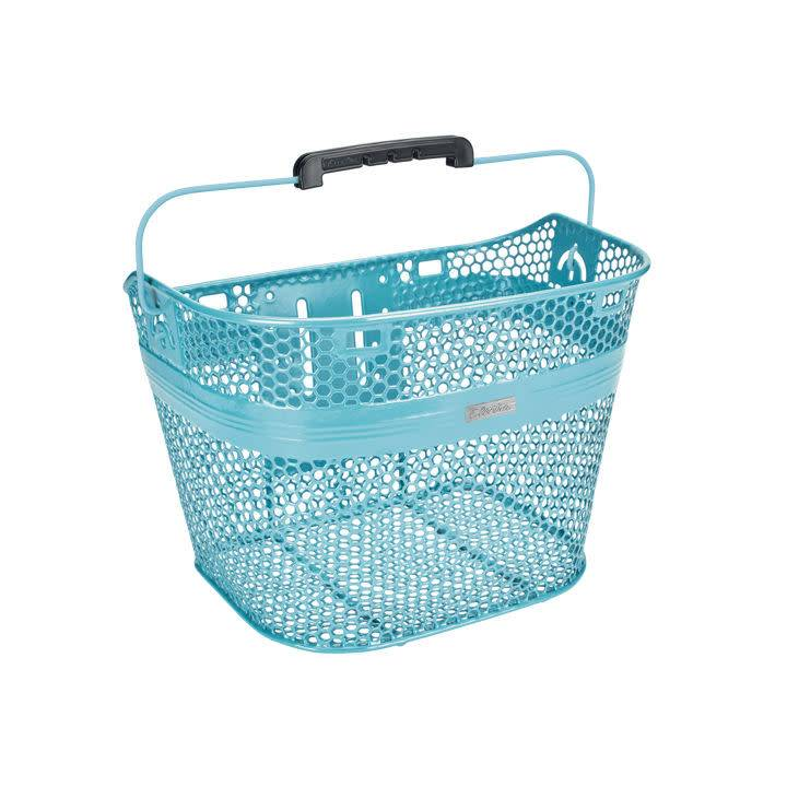 Electra Electra Basket Light Blue Linear QR Mesh Metallic