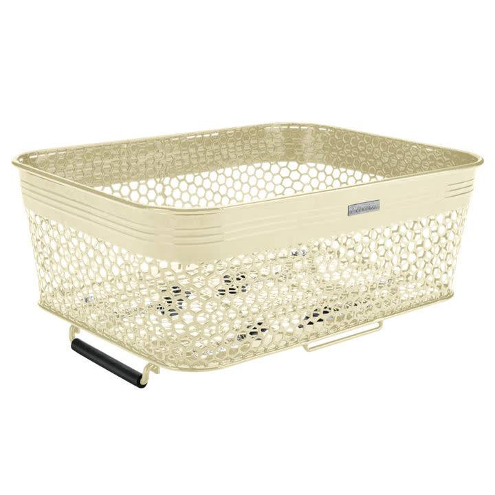 Electra Basket Electra Linear QR Mesh Low Profile Cream w/Net