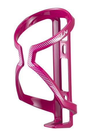 LIV LIV AirWay Sport Water Bottle Cage Pink/White/Silver