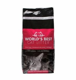 World's Best Worlds Best Cat Litter Multi Cat Red 28lb