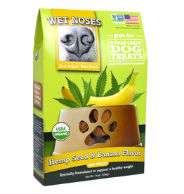 Wet Noses Wet Noses GF Hempseed and Banana Treat 14oz