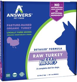 Answers Answers Turkey Nibbles 2.2# 1oz bites