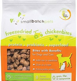 Small Batch Small Batch Freeze Dried Chicken Small Bites 7oz