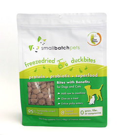 Small Batch Small Batch Freeze Dried Duck Small Bites 7oz