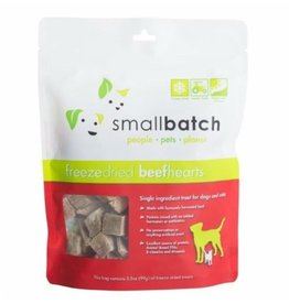 Small Batch Small Batch Freeze Dried Beef Hearts 3.5oz