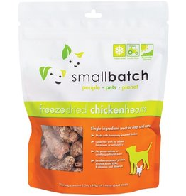 Small Batch Freeze Dried Chicken Heart 3.5oz