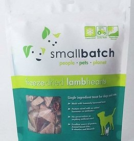 Small Batch Small Batch Freeze Dried Lamb Heart 3.5oz