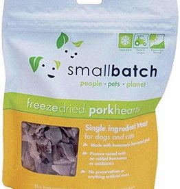 Small Batch Small Batch Freeze Dried Pork Heart 3.5oz