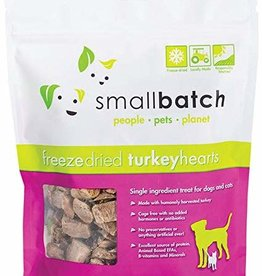 Small Batch Small Batch Freeze Dried Turkey Heart 3.5oz