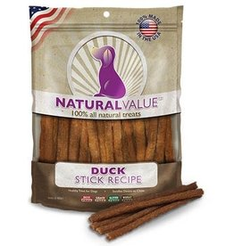 Natural Value Duck Sticks 14oz