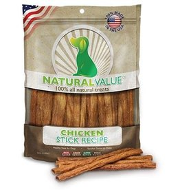 Natural Value Chicken Sticks 14oz