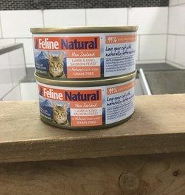 Feline Natural Feline Natural Lamb & Salmon can 3oz