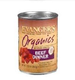 Evanger's Organic Beef Dinner 12.8oz Can single