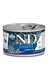 Farmina N/D Farmina N/D Ocean Salmon & Cod adult mini 6/4.9oz cans