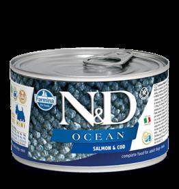 Farmina N/D Farmina N/D Ocean Salmon & Cod adult mini 6/4.9oz cans