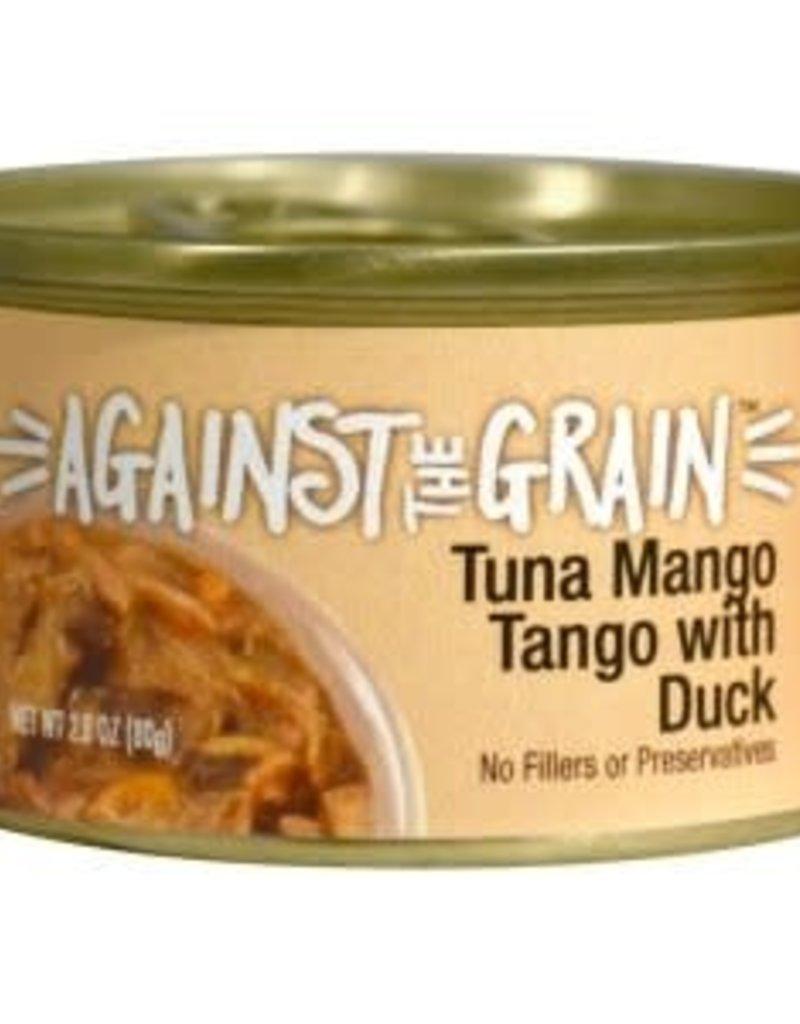 Against The Grain Cat Can Tuna Mango Tango with Duck 2.8oz single