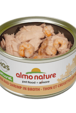 Almo Nature Almo Nature Cat Cans Tuna and Shrimp 2.47oz case of 24