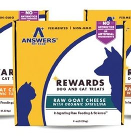 Answers Answers Goat Milk Cheese treat 8oz