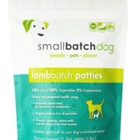 Small Batch Small Batch lamb frozen dog food