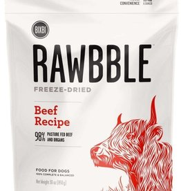 Bixbi Rawbble Freeze Dried Beef