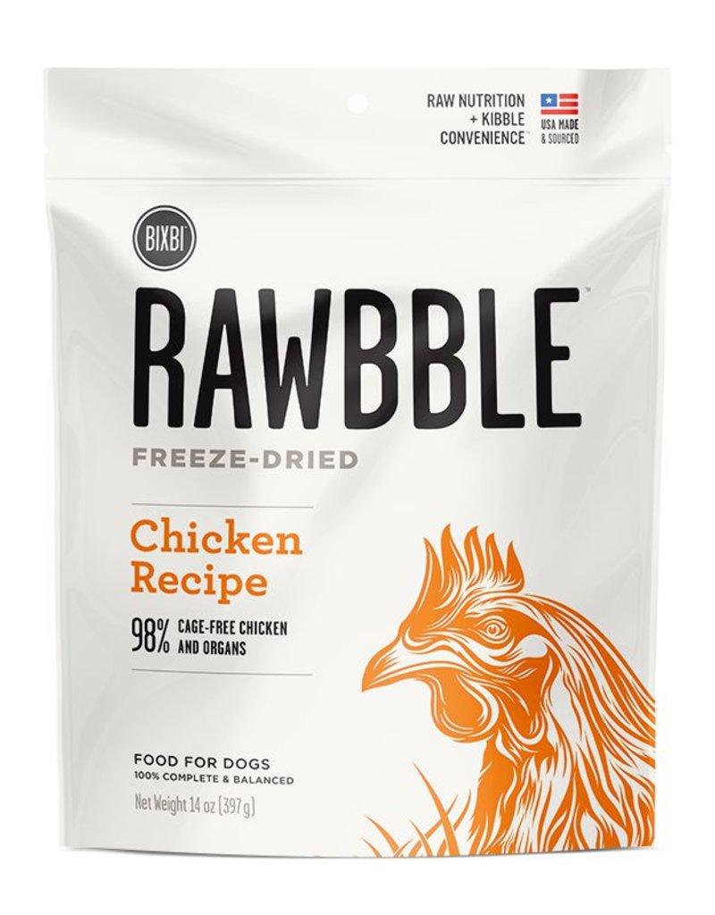 Bixbi Rawbble Freeze Dried Chicken