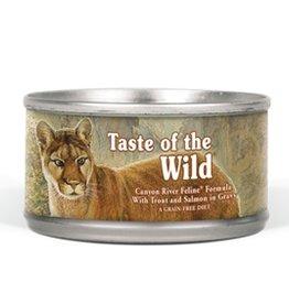 Taste of the Wild Taste of the Wild Canyon River feline 5.5oz single can